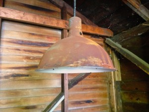 Barn light finished product